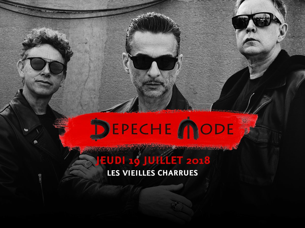 News – Depeche Mode – Vieilles Charrues 2018.
