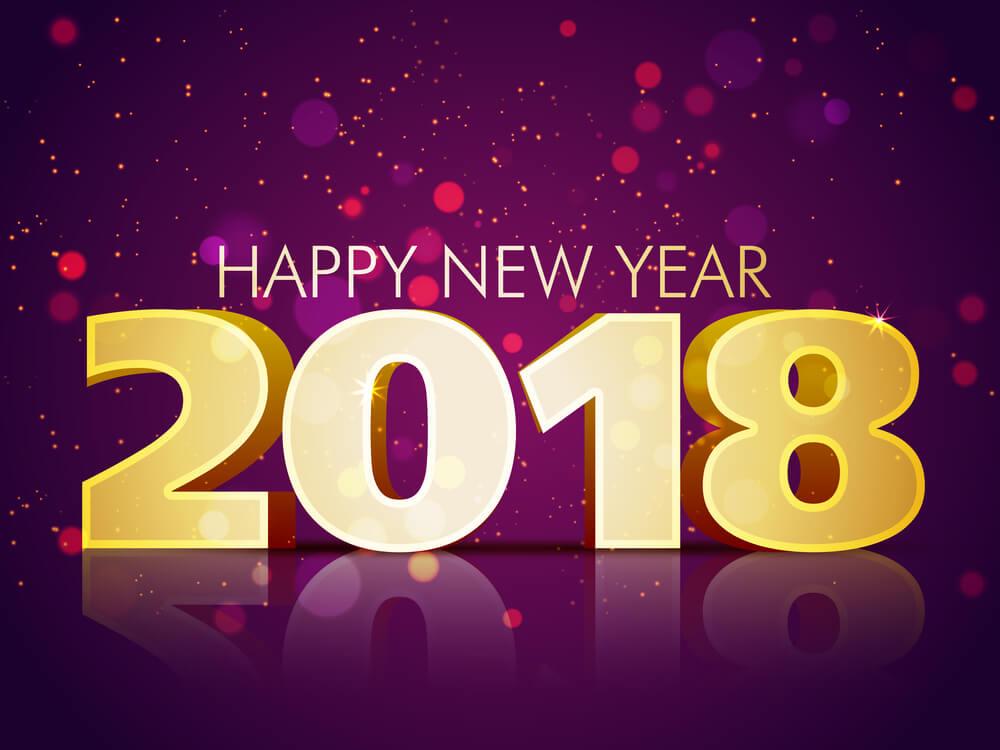 Happy New Year 2018 – Bonne Année 2018 – Feliz año 2018 – Frohes Neues Jahr 2018…