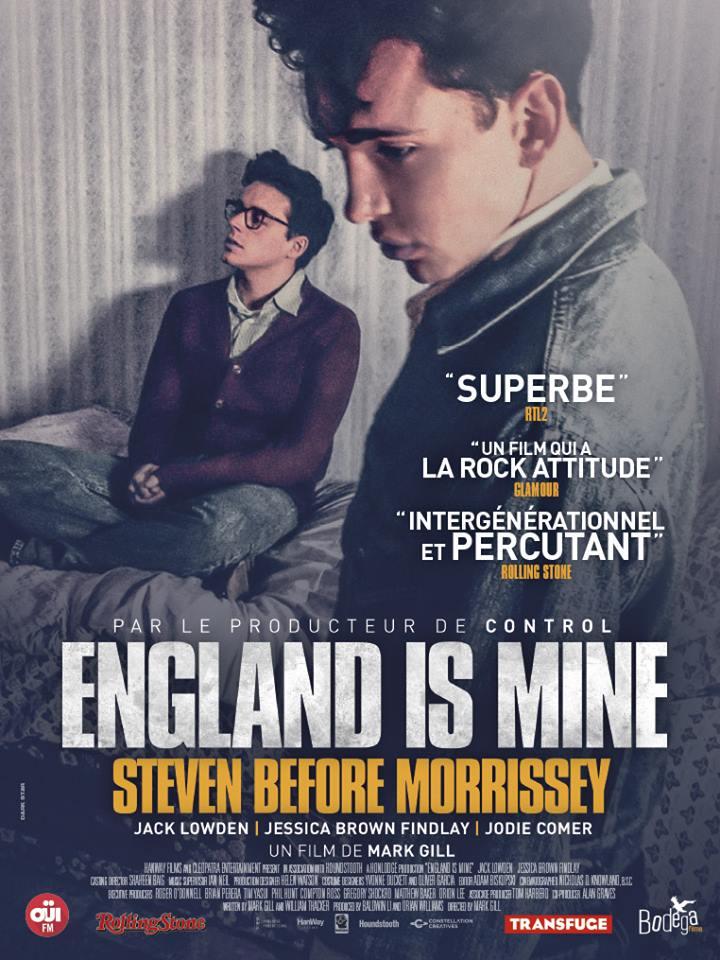 News – England is mine, sortie du film le 07/02/18.