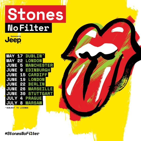 The Rolling Stones – No Filter Tour 2018