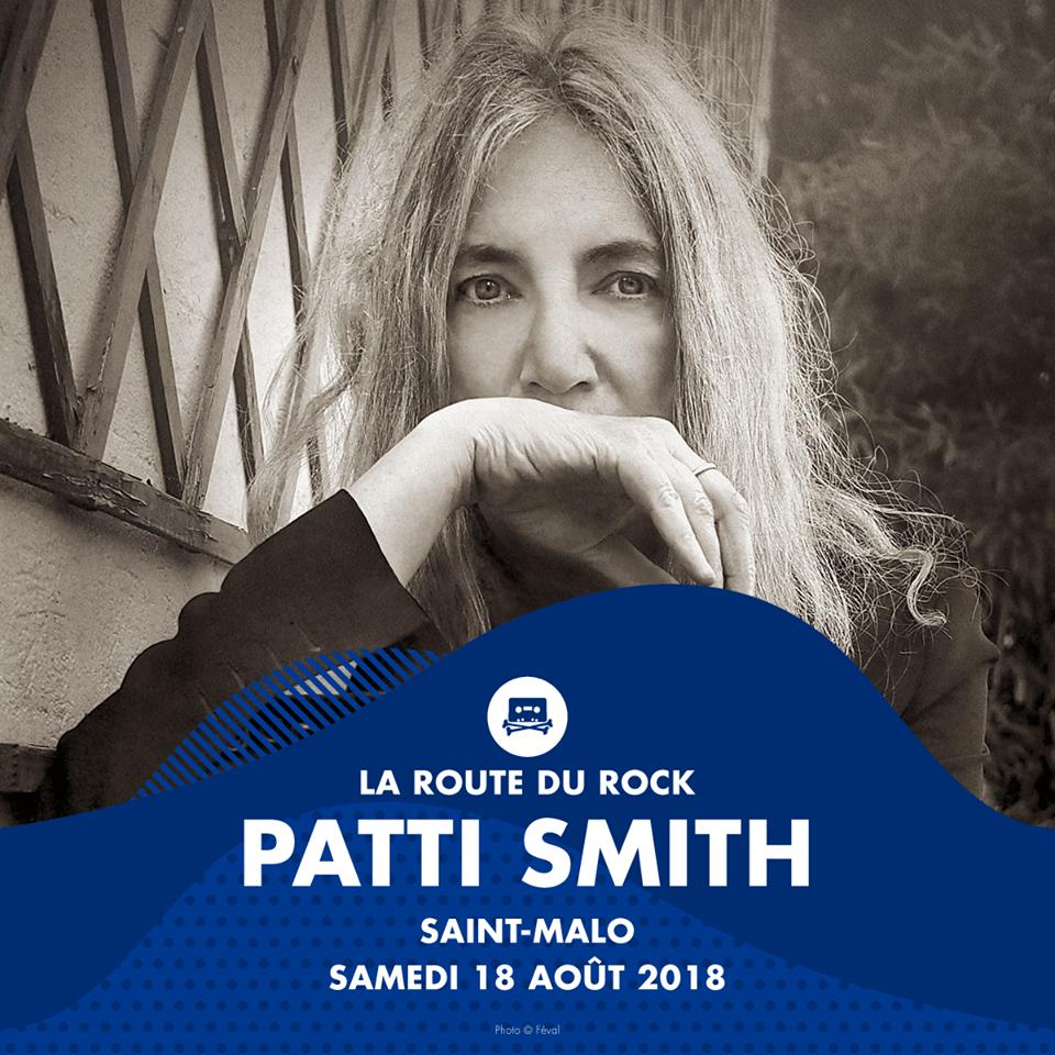 News – Patti Smith au Festival La Route du Rock St Malo 16/19 Août 2018