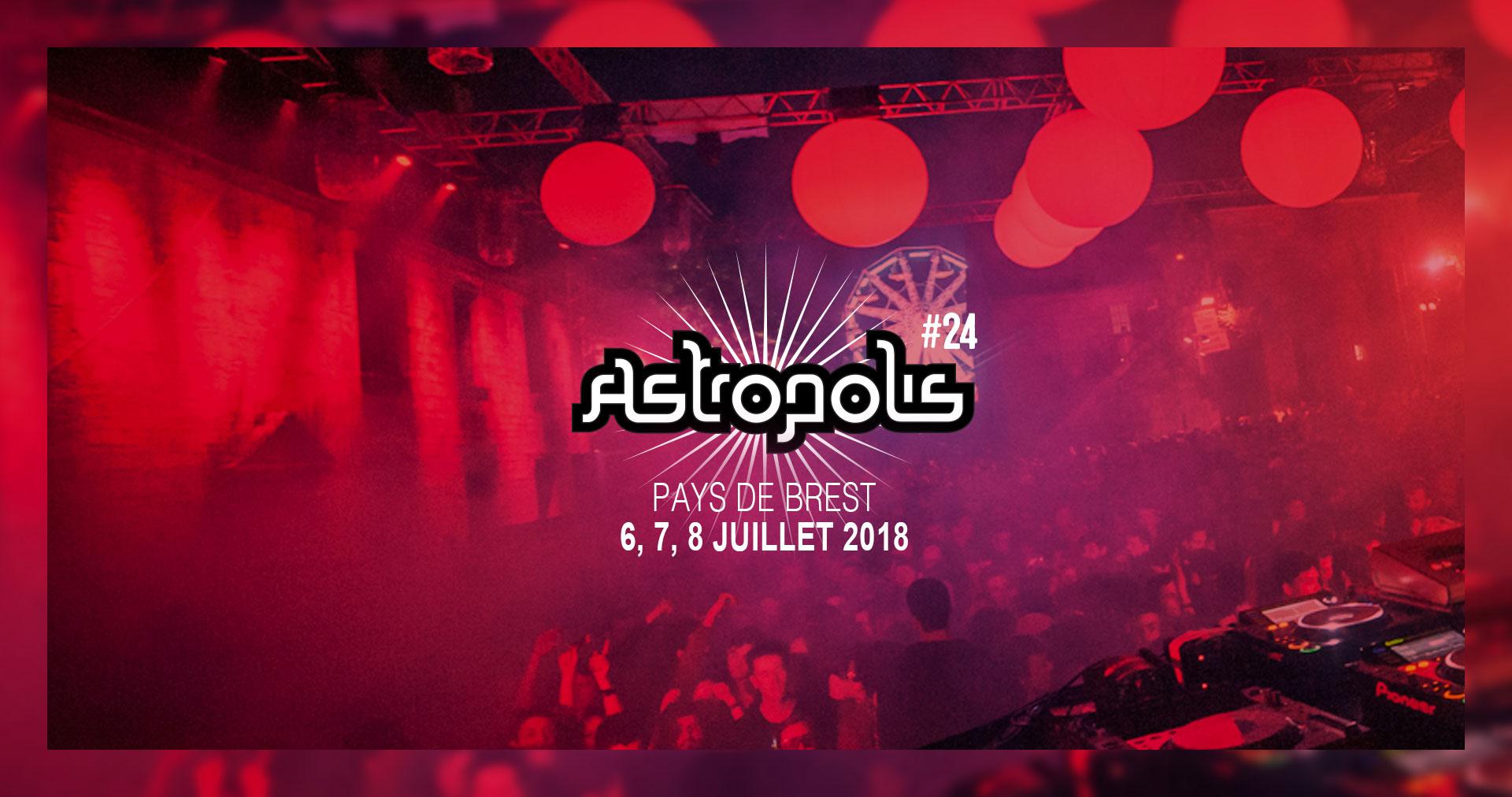 News – Festival Astropolis : 6 au 8 juillet 2018 à Brest