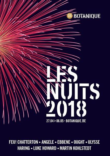 Festival Les Nuits Botanique 2018