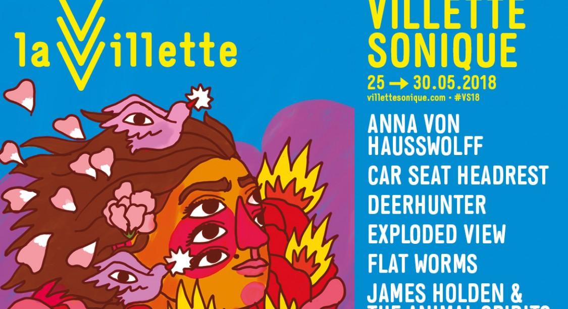 News – Festival Villette Sonique du 25 au 30 mai 2018