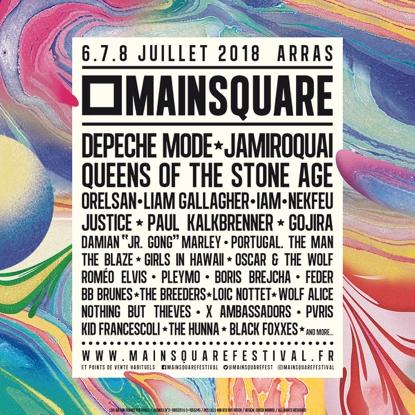 Main Square Festival 2018 : la programmation complète.
