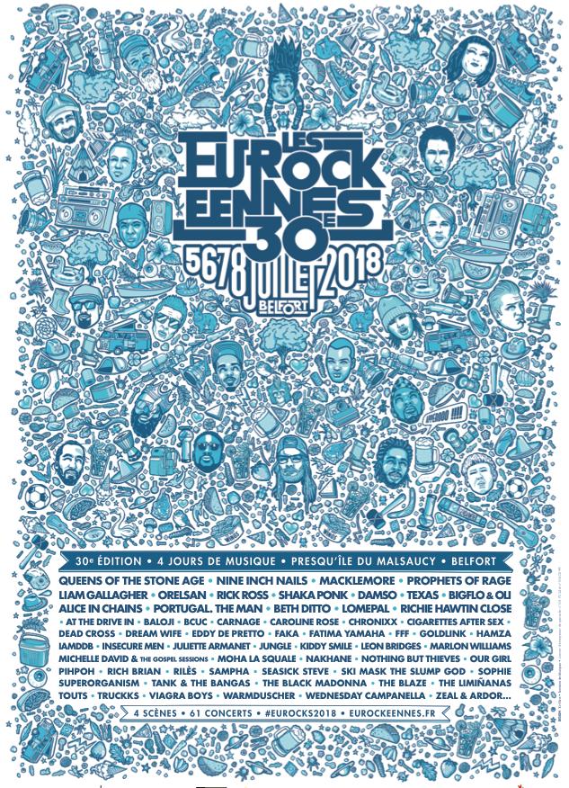 News – Festival des Eurockéennes de Belfort 2018, toute la programmation