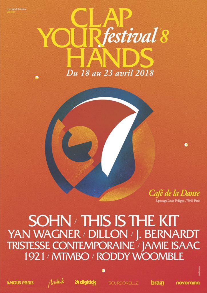 News – Festival Clap Your Hands 2018 – Café de la Danse, Paris
