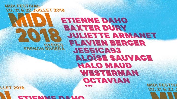 News – Midi Festival de Hyères – 20, 21 et 22 juillet 2018
