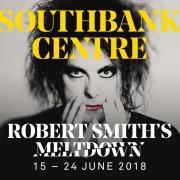 robert smith meltdown 2018 poster