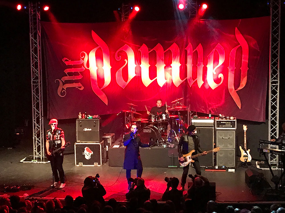 Le Live de la semaine – The Damned – Smash It Up at the BBC