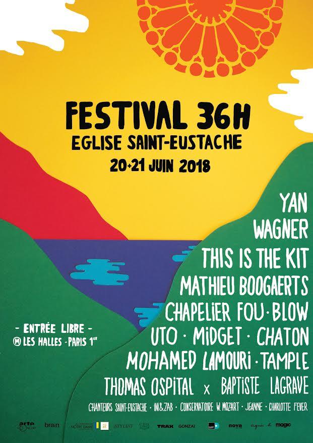 Festival – Les 36 Heures de Saint-Eustache 2018
