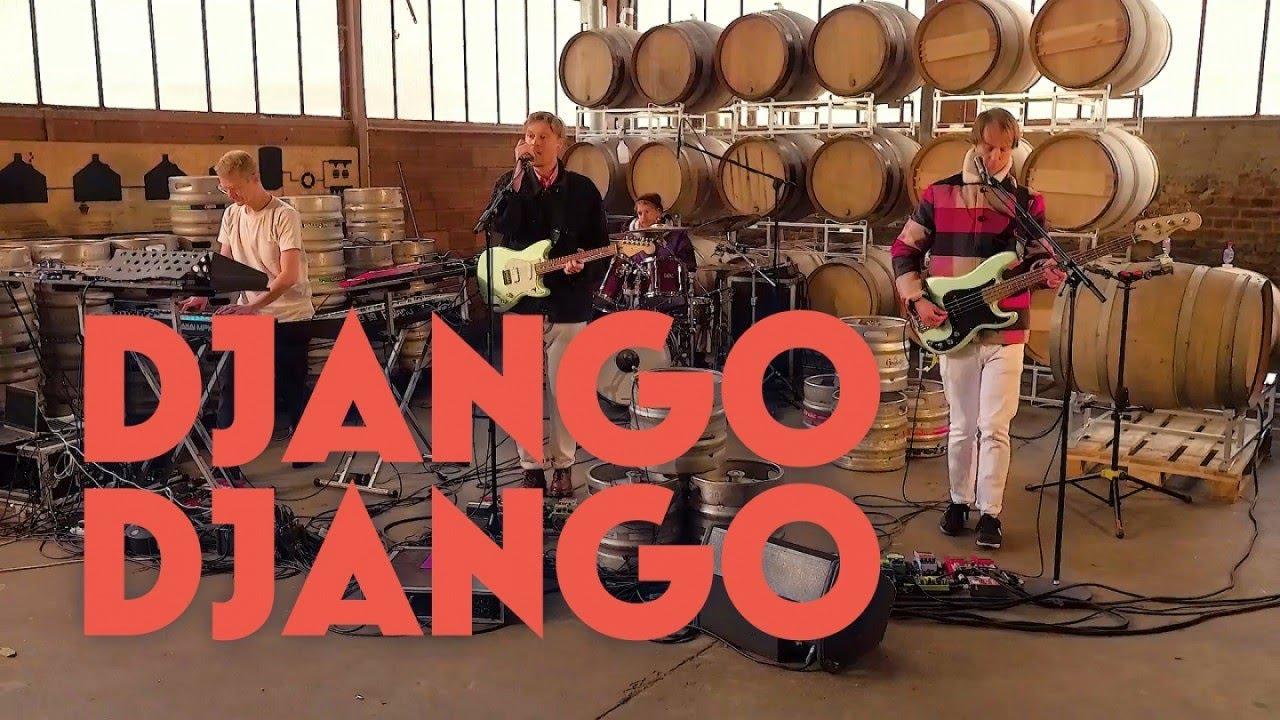 Le Live de la semaine – Django Django au Bar Gallia à Pantin, Paris.