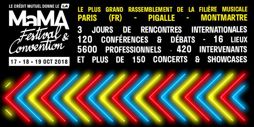 Festival – MaMA festival 2018 – Pigalle