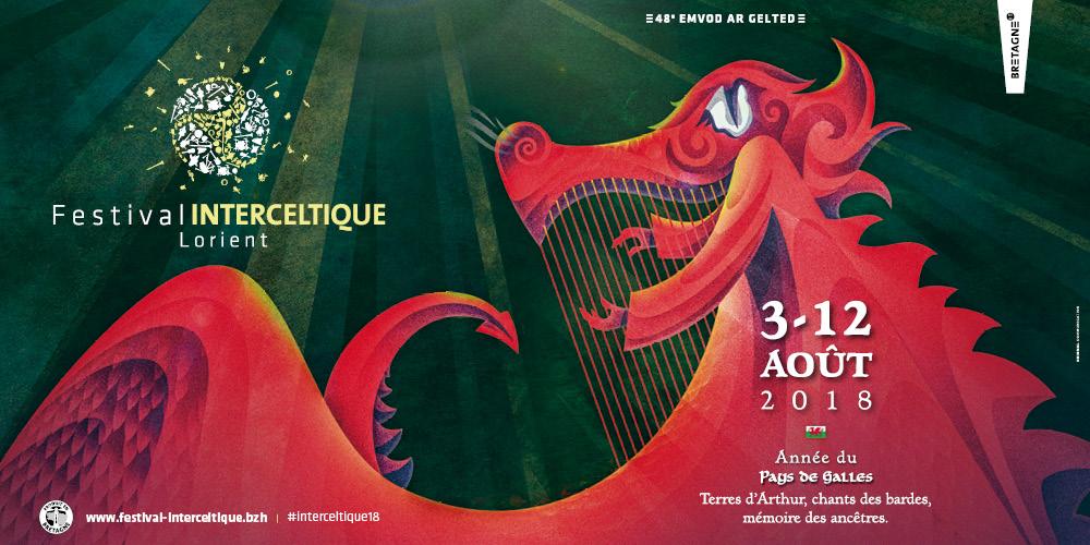 Festival : Festival Interceltique de Lorient du 3 au 12 août 2018