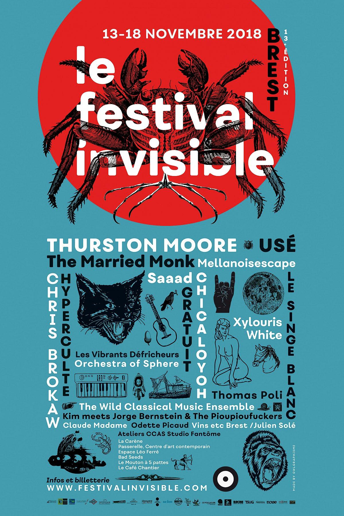 Festival – Le Festival Invisible #13 – Brest