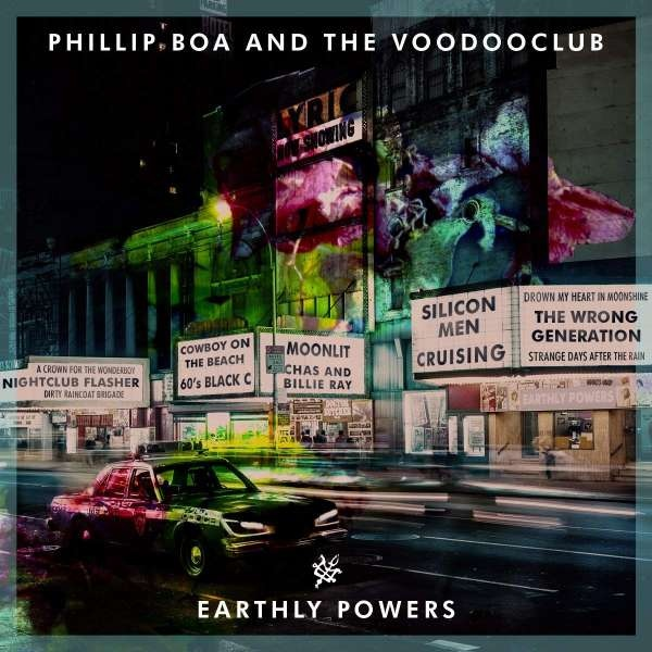News – Phillip Boa & The Voodooclub – Earthly Powers