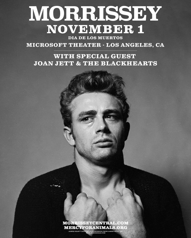 News – Morrissey – Microsoft Theatre, Los Angeles, 01/11/18