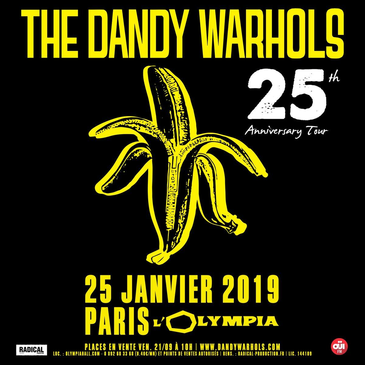 Bientôt En Concert Chez Nous – The Dandy Warhols à Paris.