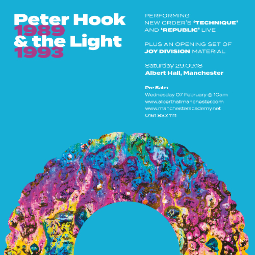 """News – Peter Hook & The Light revisitent """"Technique"""" et """"Republic"""" de New Order."""