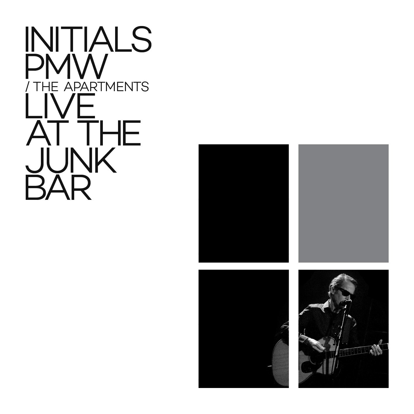 News – The Apartments – Initials PMW, Live at the Junk Bar.