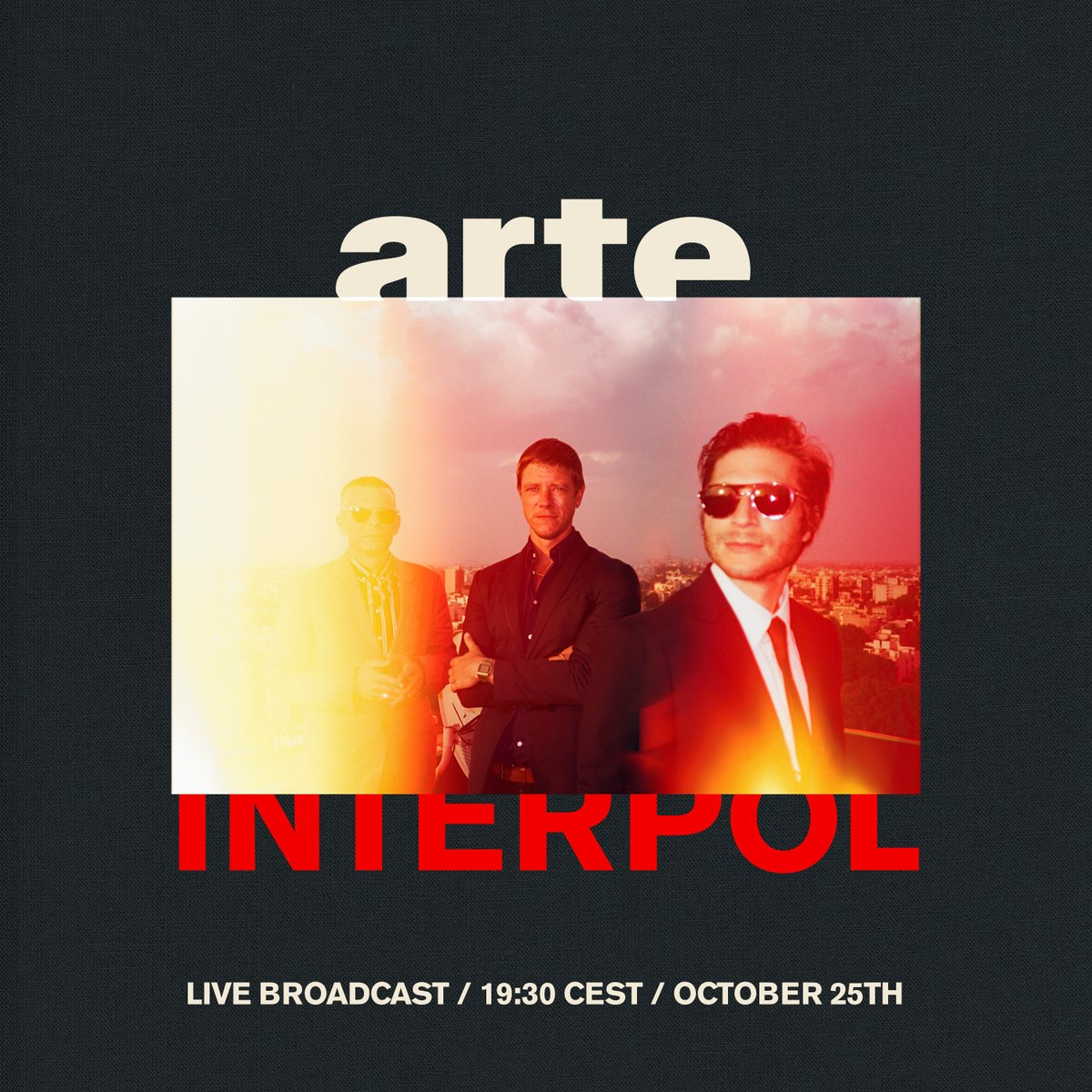News – Interpol – The Ghost Session – Arte concert – 25/10/18