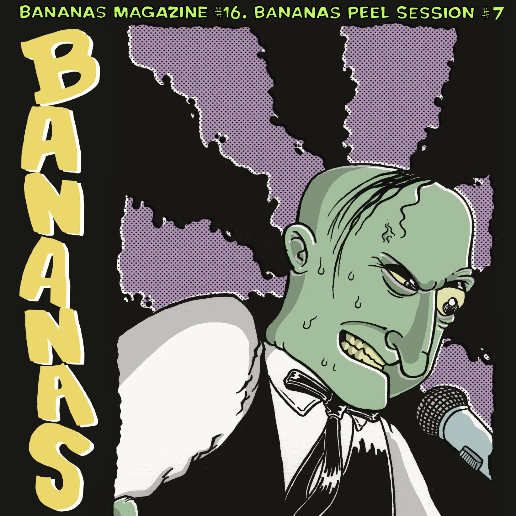 Playlist Découvertes # 35 – Bananas Peel Sessions #7: une compilation punk-rock