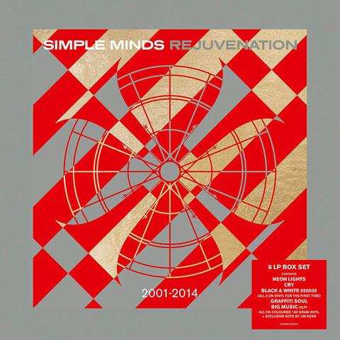 News – Simple Minds / Rejuvenation 2001-2014 / 6LP coloured vinyl box