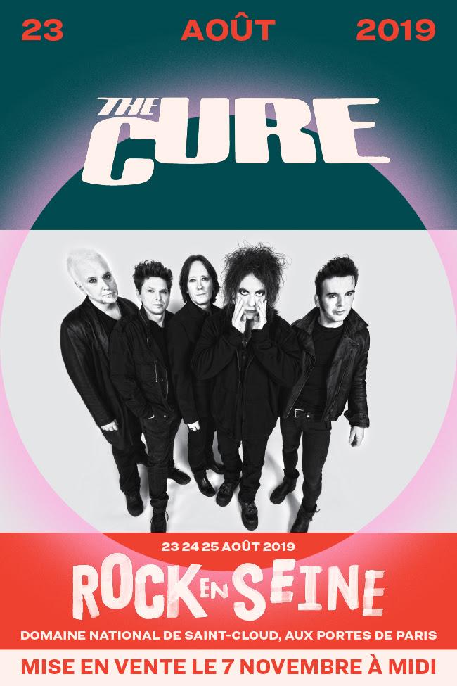 Bientôt En Concert Chez Nous – The Cure au Festival Rock en Seine