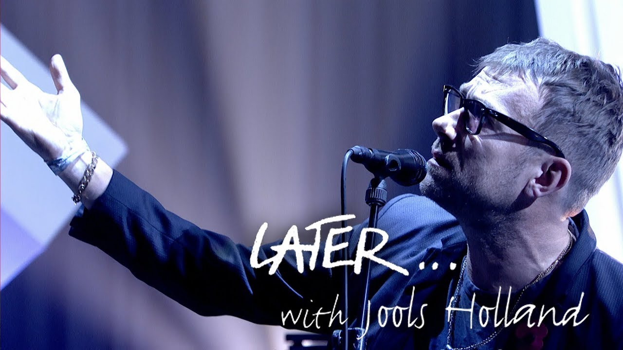 Live de la semaine – The Good, the Bad & the Queen on Later… with Jools Holland