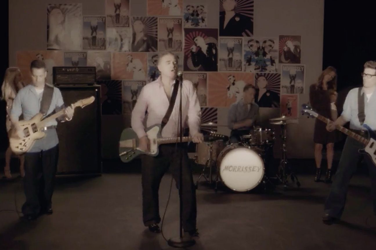 News – Morrissey – Back on the Chain Gang – Official Video