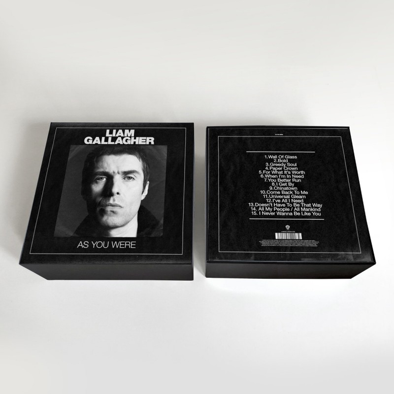 "News – Liam Gallagher – As You Were – 7 "" Edition Collector"