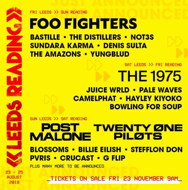 Festival – Reading & Leeds Festival 2019