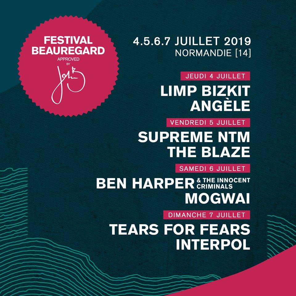 Festival – Festival Beauregard 2019 – Premières têtes d'affiche.