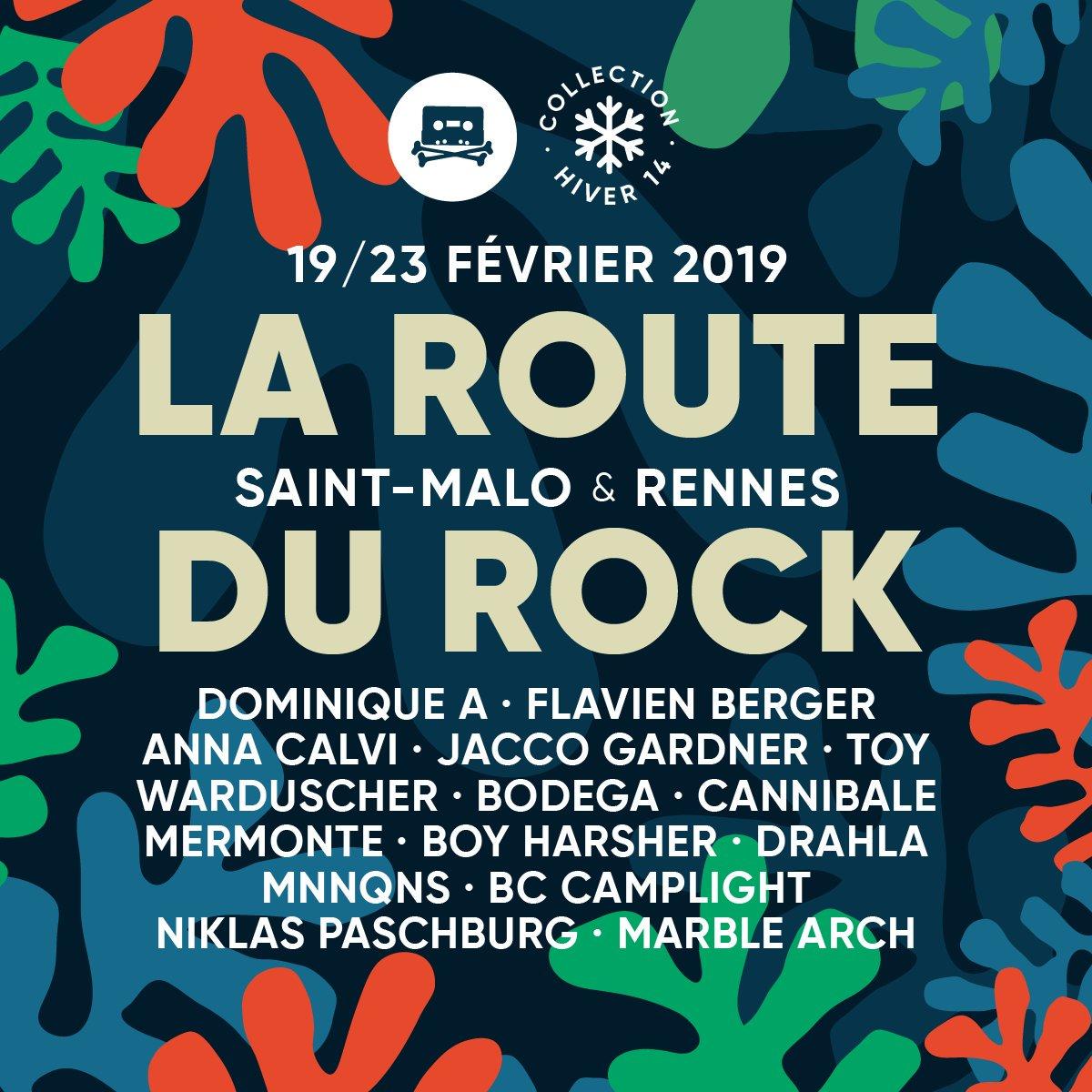 Festival – La Route du Rock – Collection hiver 2019