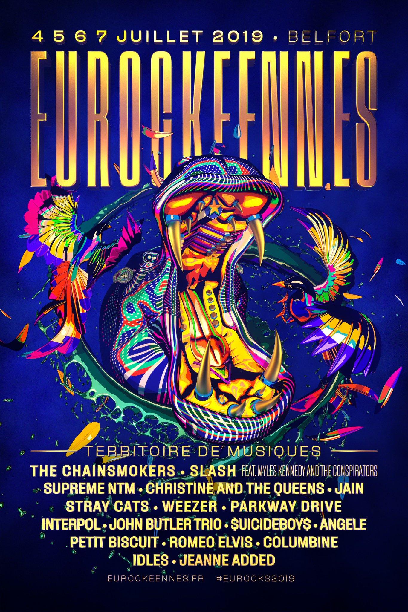 Festival – Les Eurockéennes de Belfort 2019 : les premiers noms dévoilés