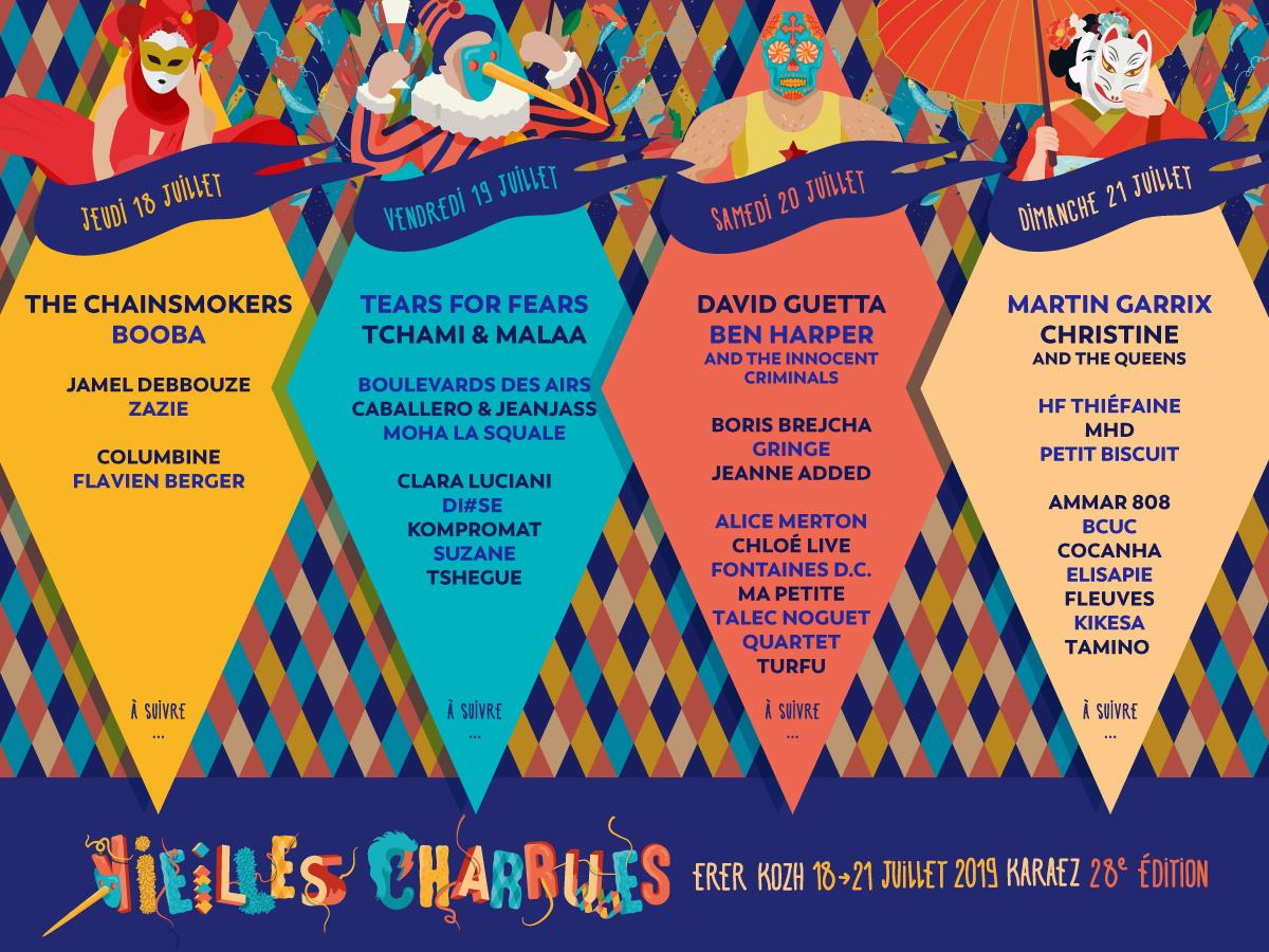 Festival – Le Festival des Vieilles Charrues 2019
