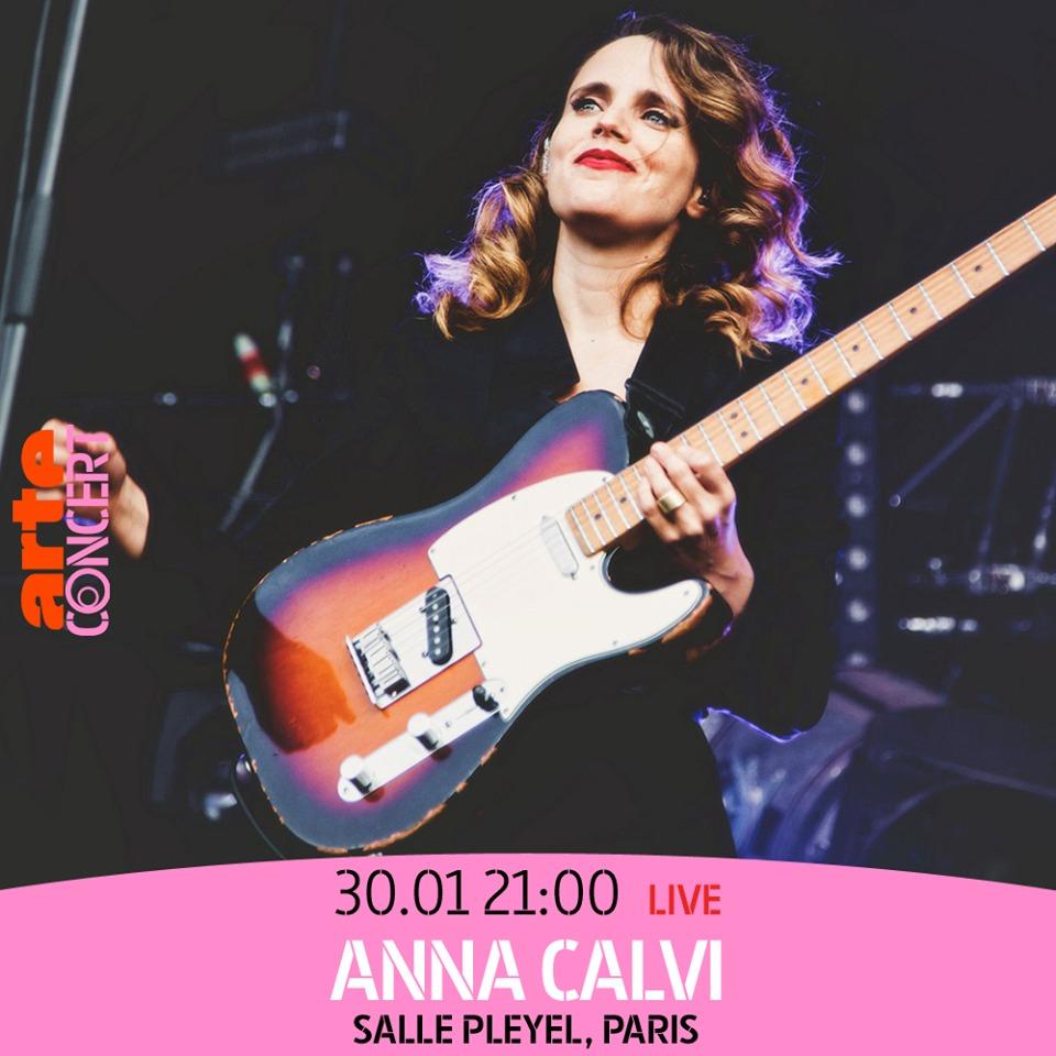 Le Live de la semaine – Anna Calvi – Salle Pleyel, Paris – Diffusion en direct