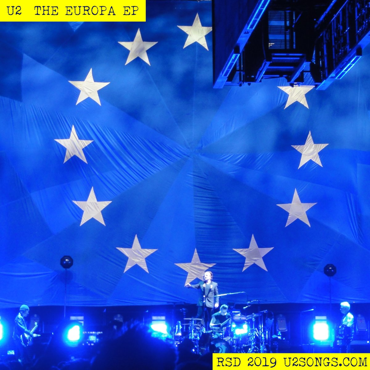 News – U2 – The Europa EP – Record Store Day 2019