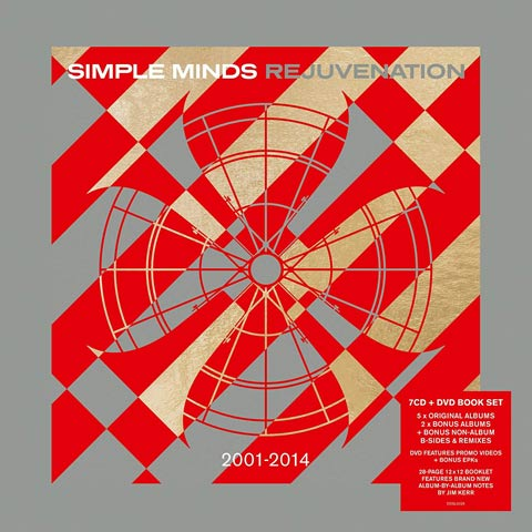 News – Simple Minds – Rejunvenation 2001-2014 – 7CD collection