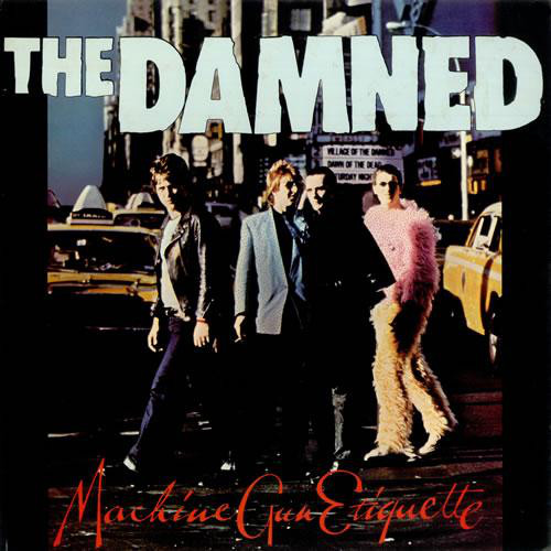 News – The Damned – Machine Gun Etiquette – North American tour