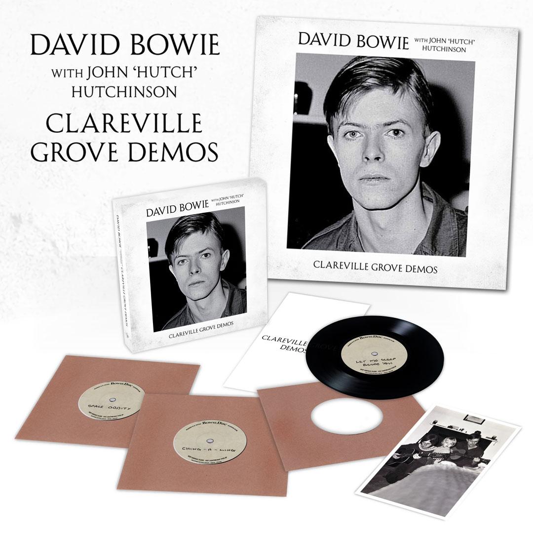 News – David Bowie – Clareville Grove Demos box