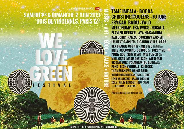 Festival – Festival We Love Green 2019