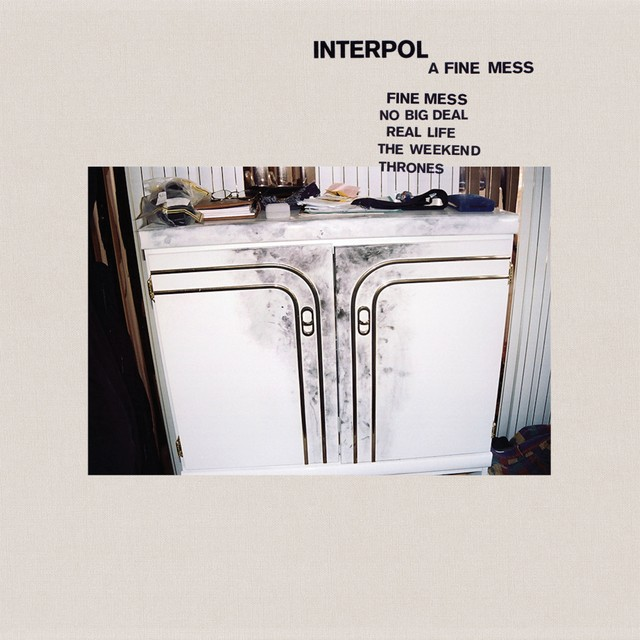 News – Interpol – Fine Mess EP