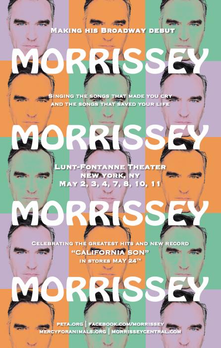 News – Morrissey – Broadway residency
