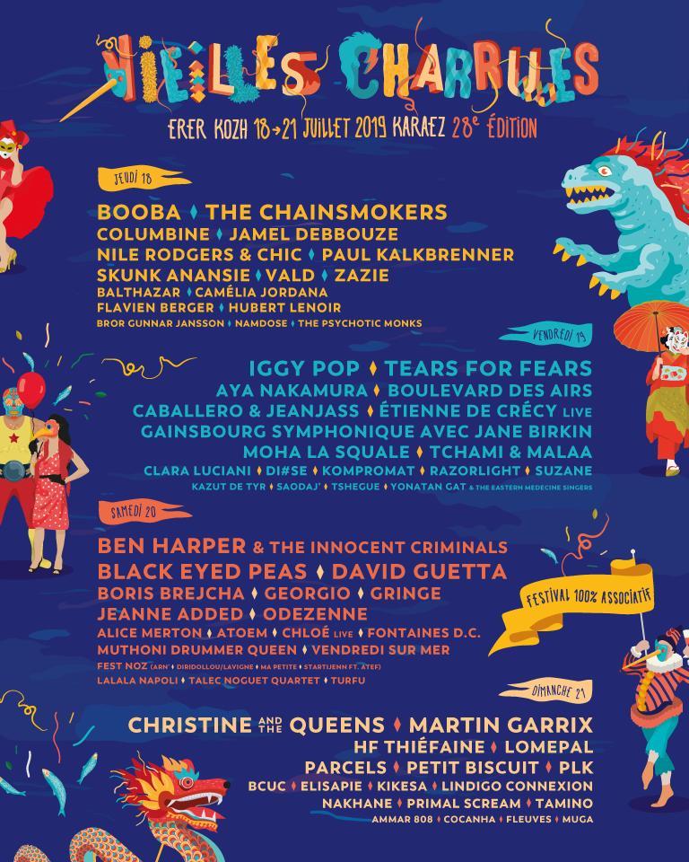 Festival – Festival Les Vieilles Charrues 2019