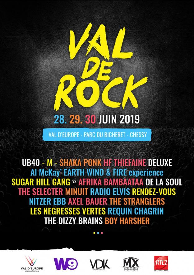 Festival – Festival Val de Rock – 28, 29 et 30 juin 2019
