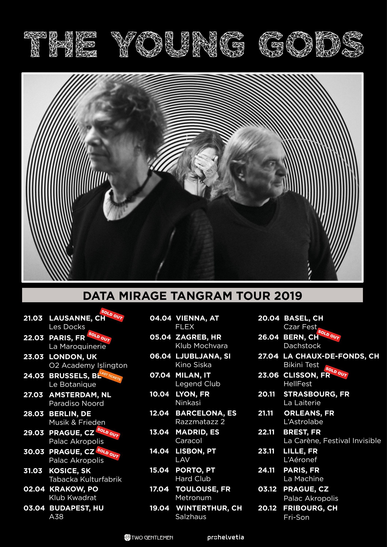 Bientôt En Concert Chez Nous – The Young Gods en tournée en France