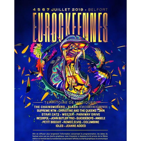 Festival – Les Eurockéennes de Belfort – Programmation 2019