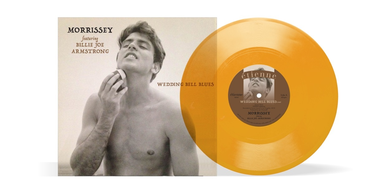 News – Morrissey – Wedding Bell Blues – #1 UK vinyl singles