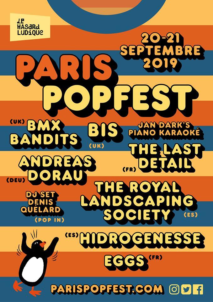 Festival – Paris Popfest – 2019